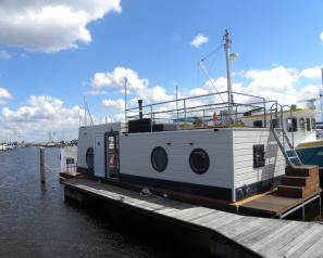 gevelbekleding woonboot